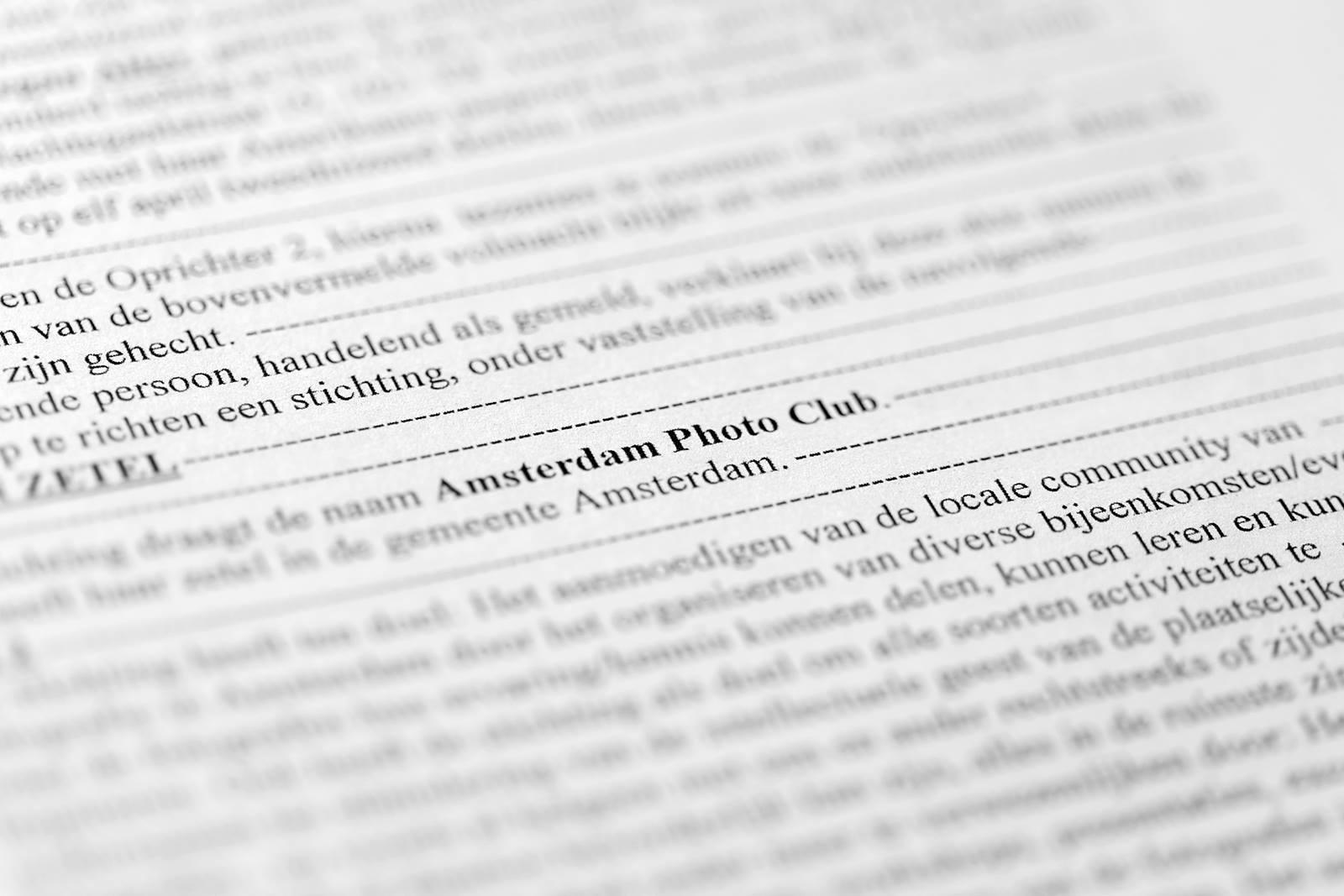 Amsterdam Photo Club Foundation